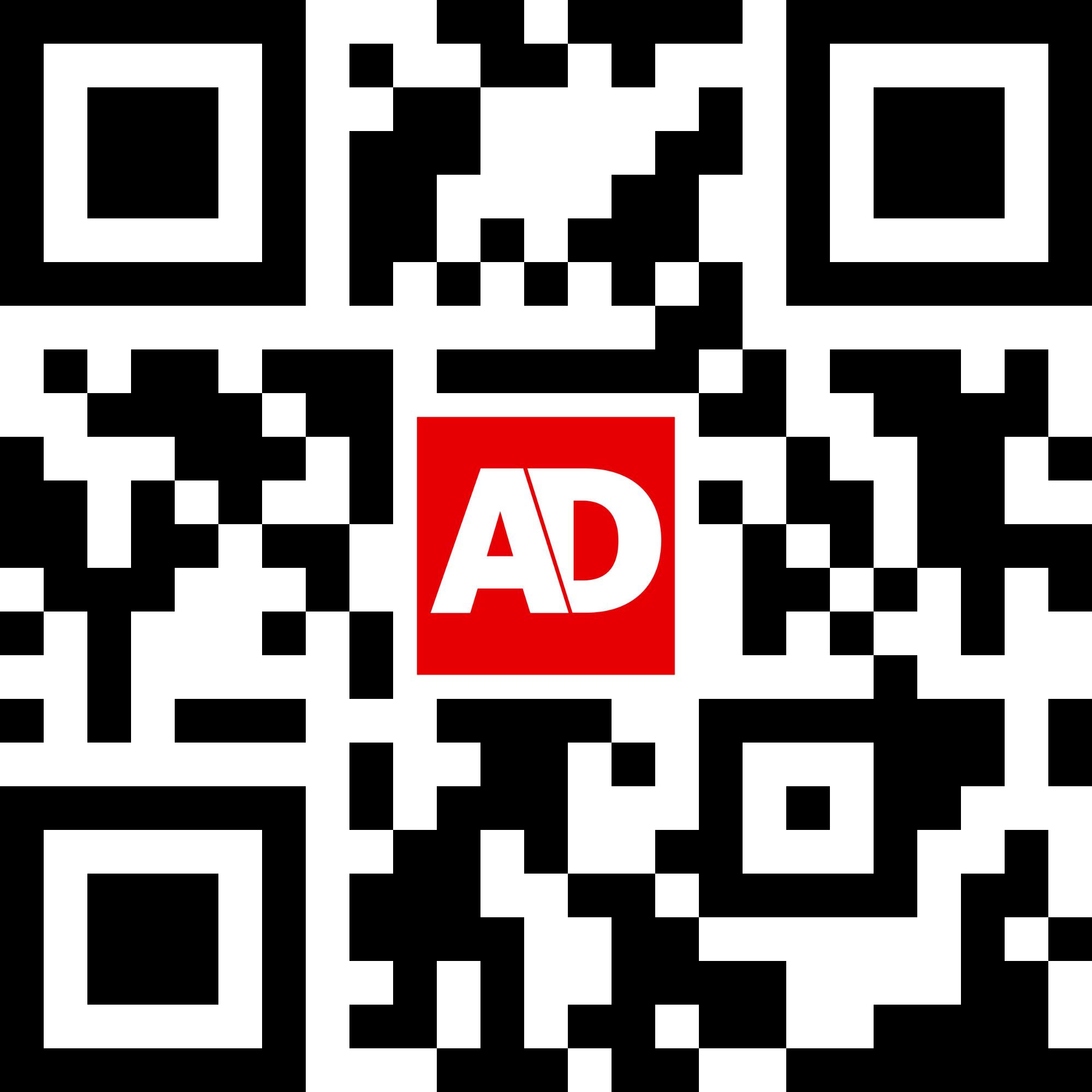 Scan de QR-code om de app te downloaden