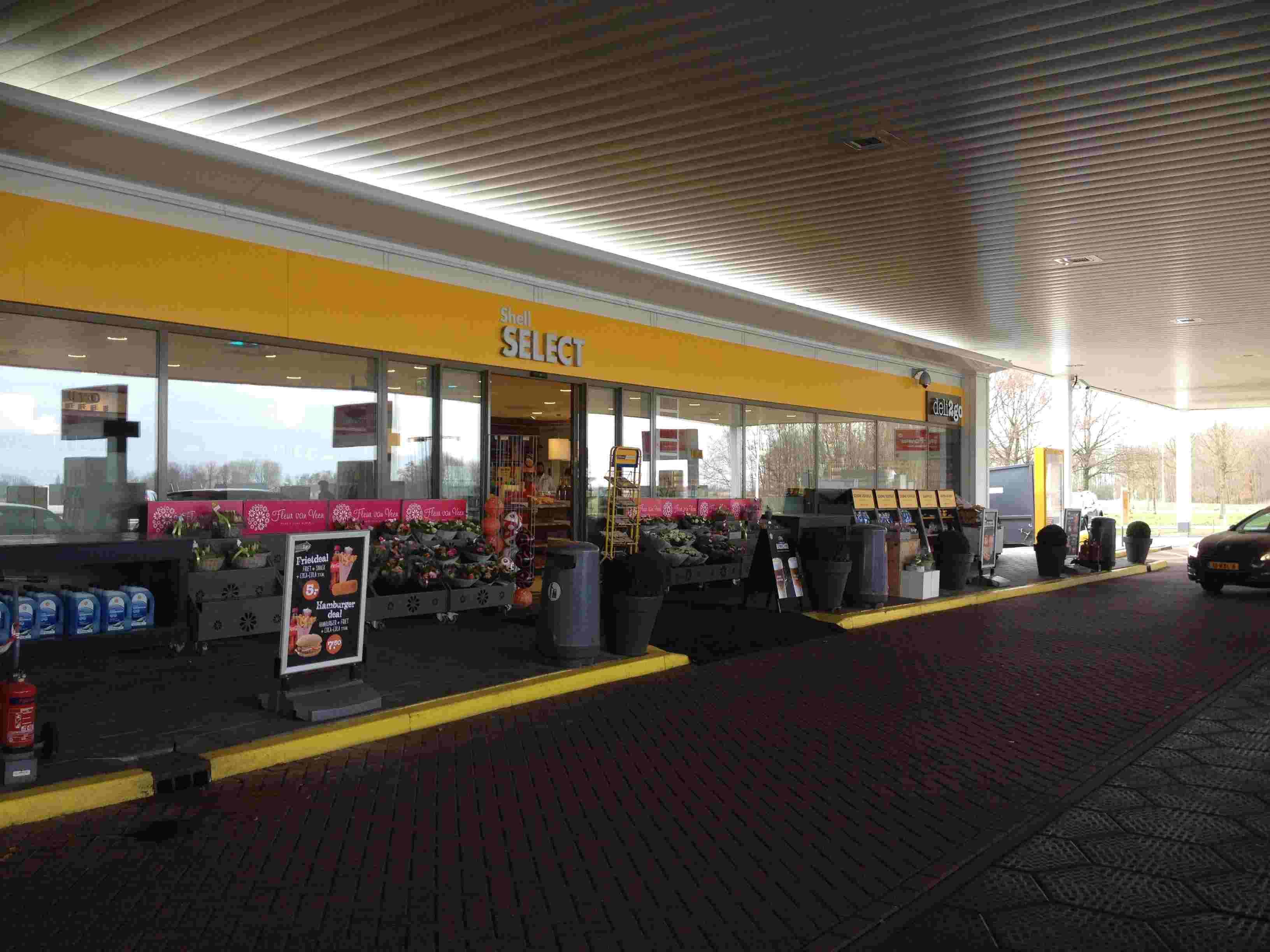 Shell Tankstation Haarrijn (Deli2go)