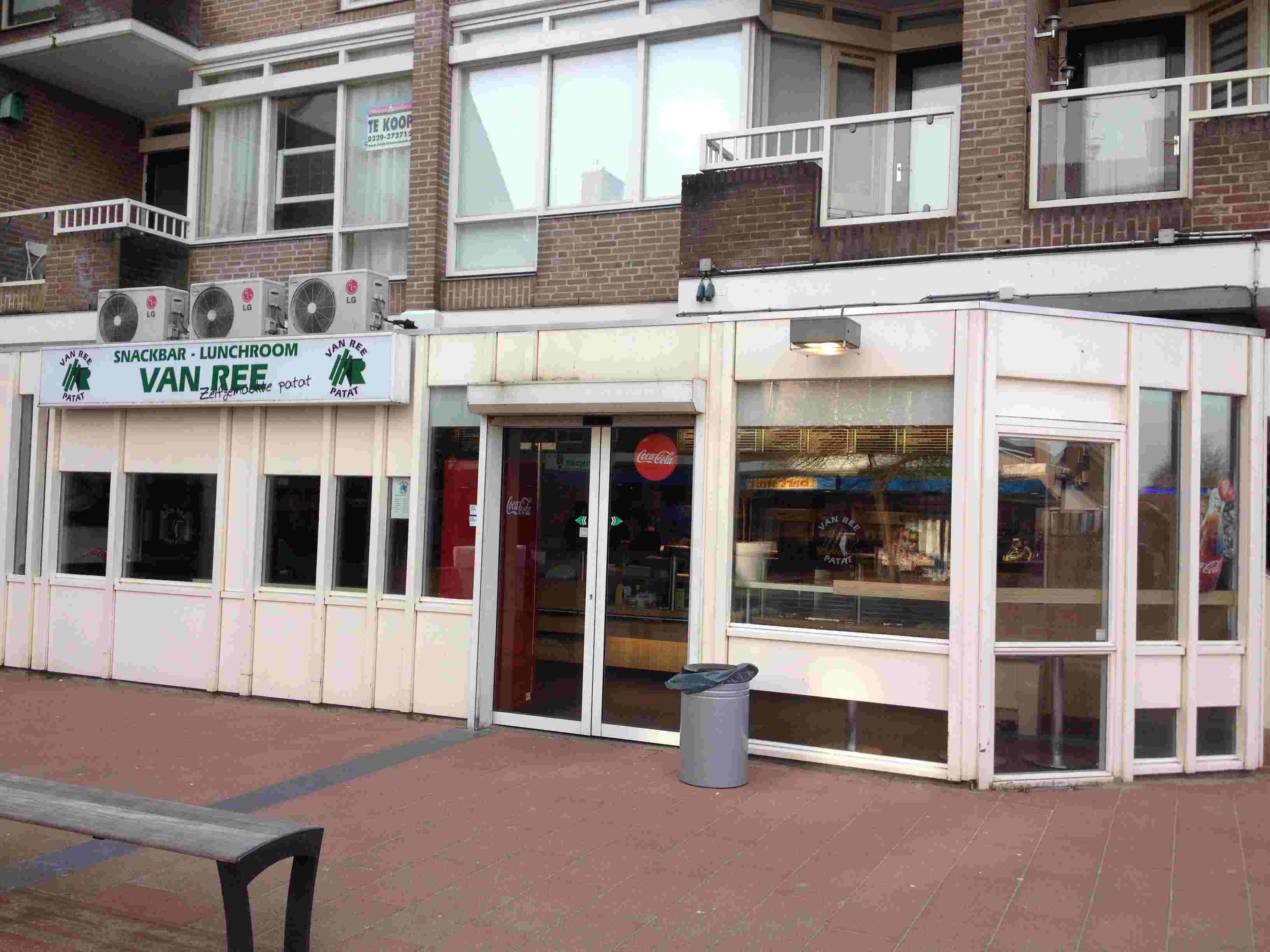 Snackbar Van Ree