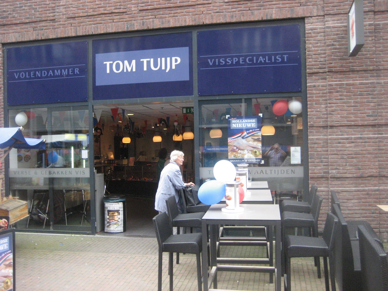 Volendammer Visspecialist Tom Tuijp