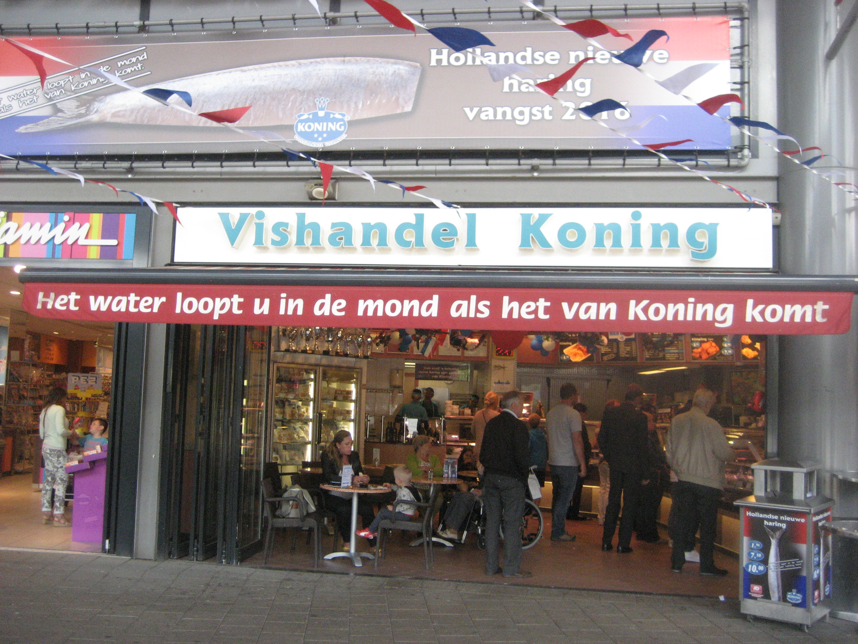 Volendammer Vishandel Koning
