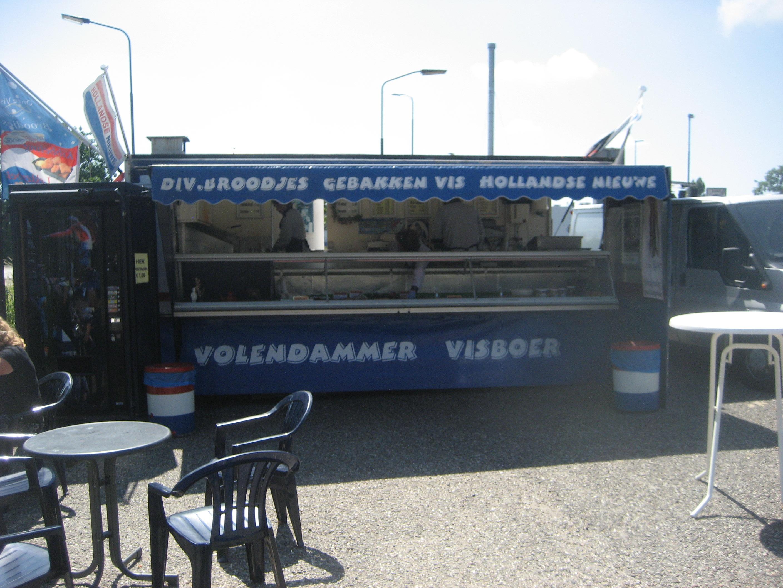 Volendammer Vishandel Jan Plat