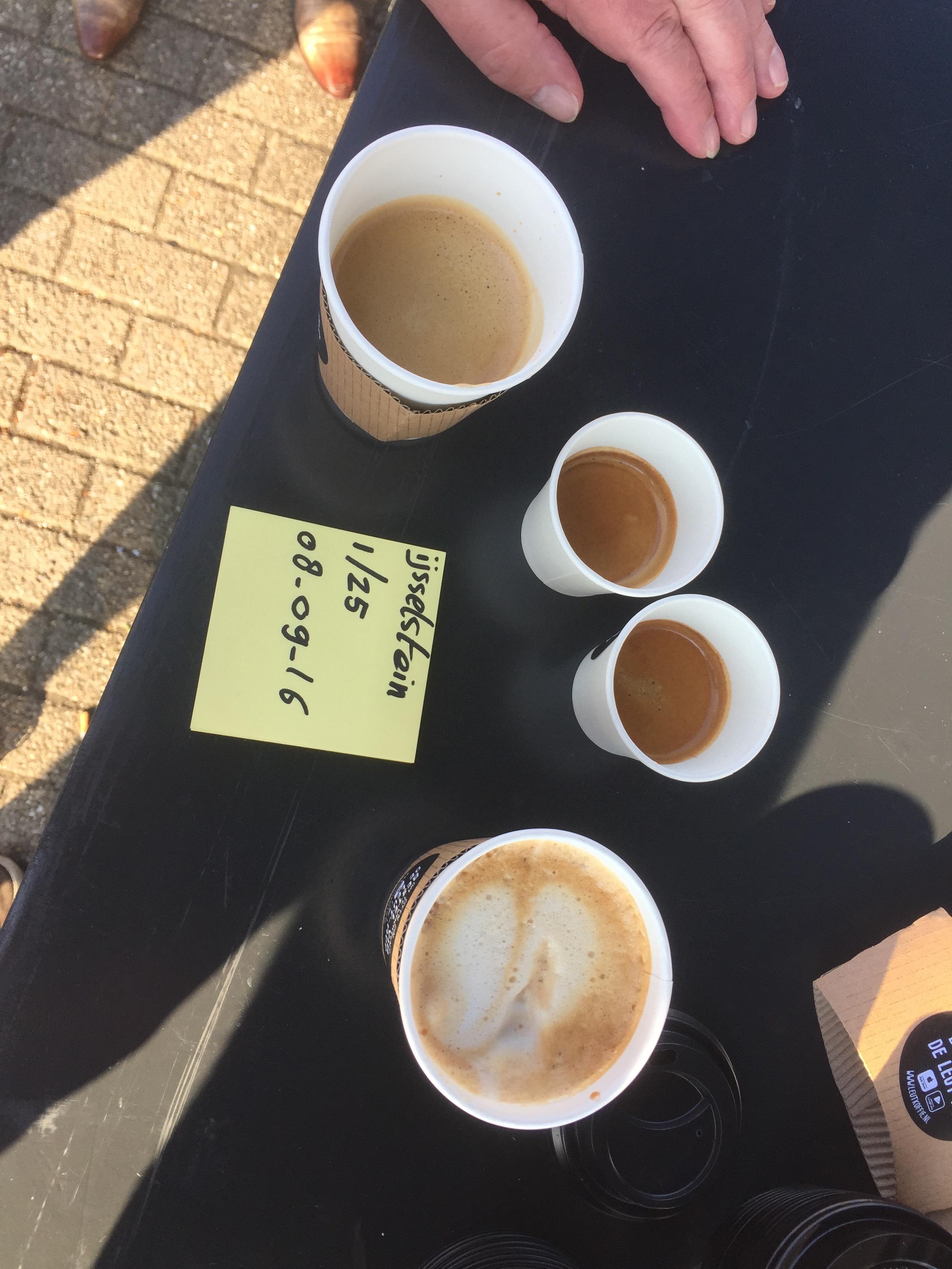 Leut mobiele koffiebar