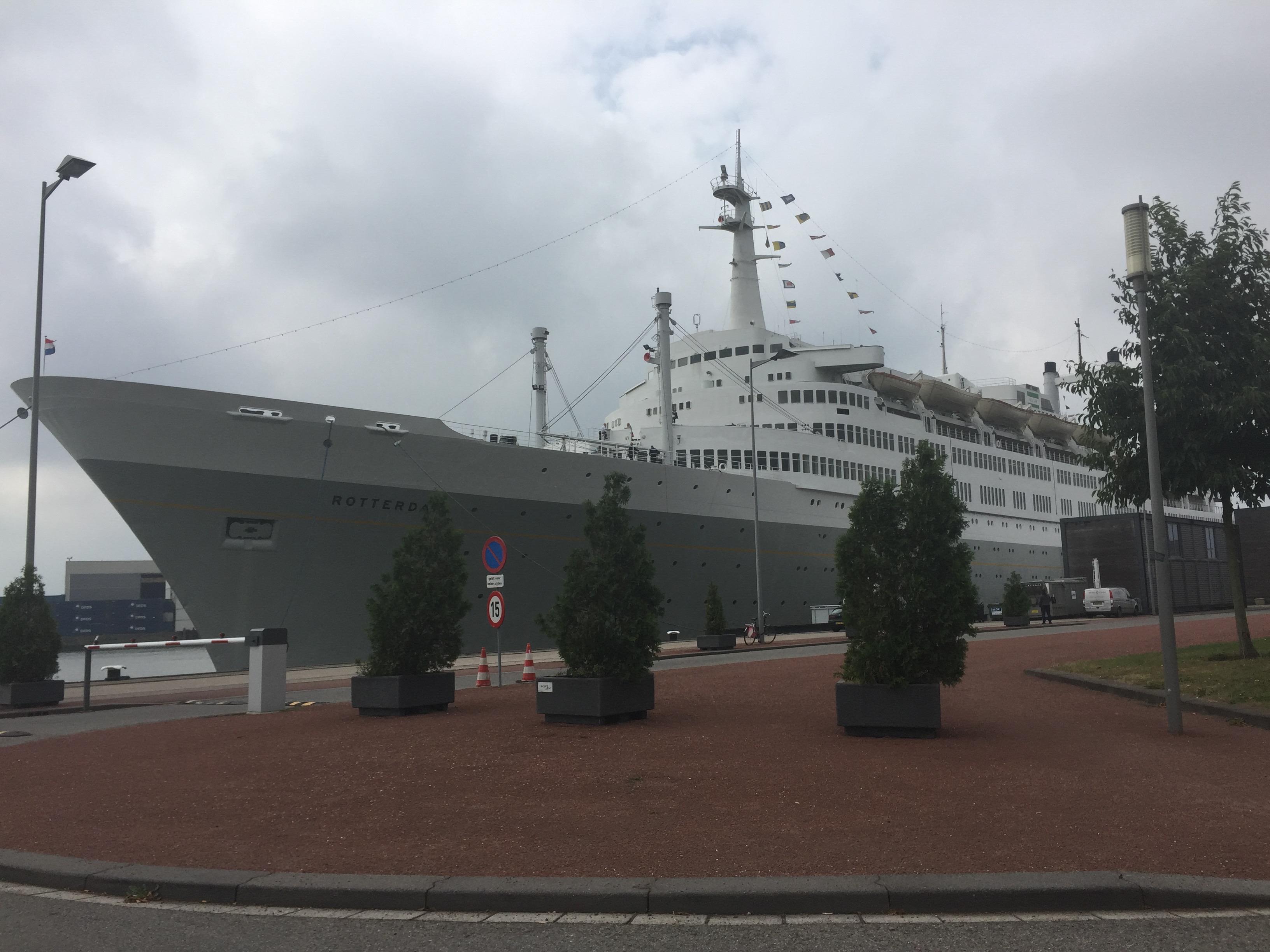 SS Rotterdam (Captain's Lounge)