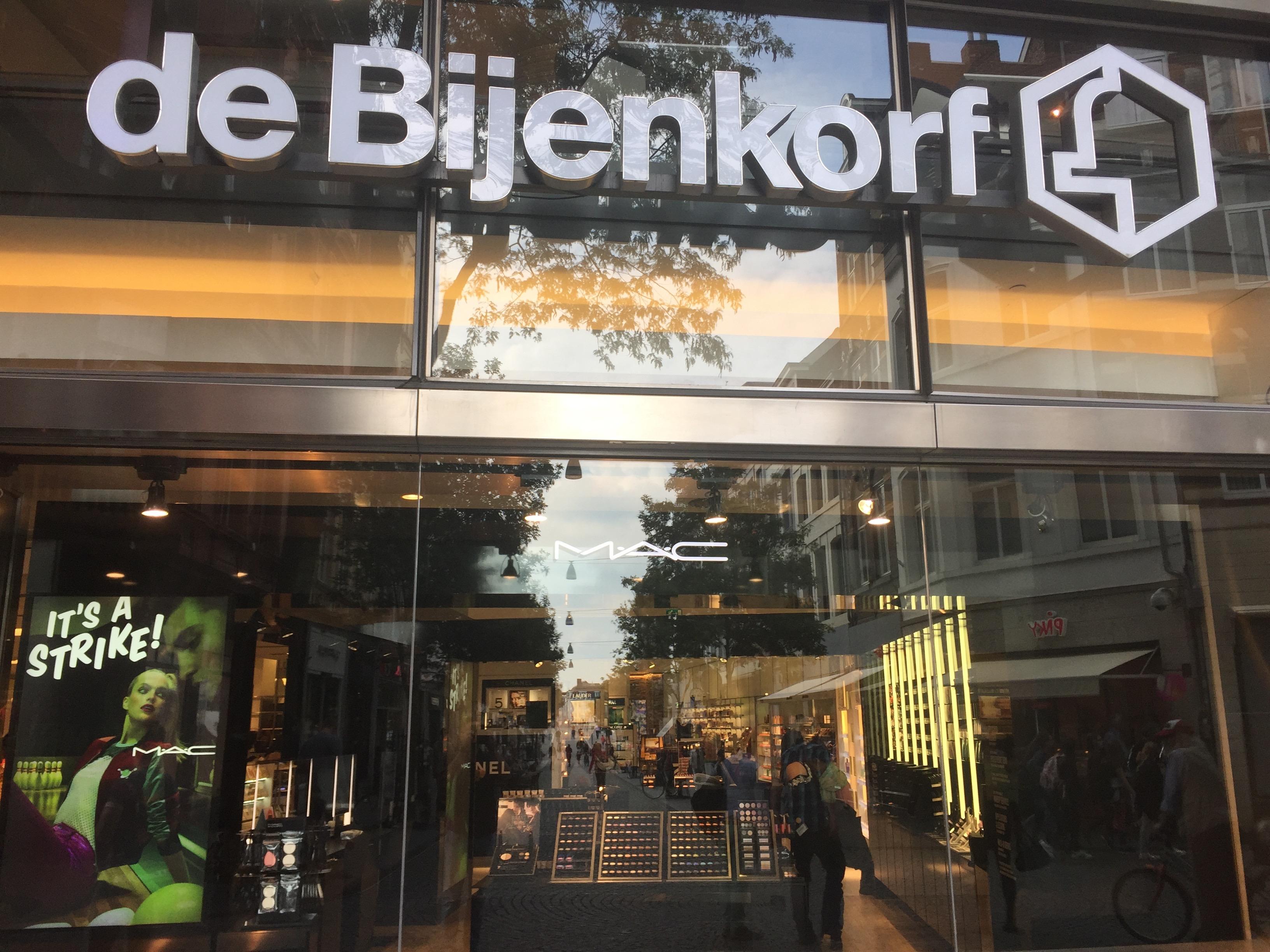 De Bijenkorf, café 1ste etage